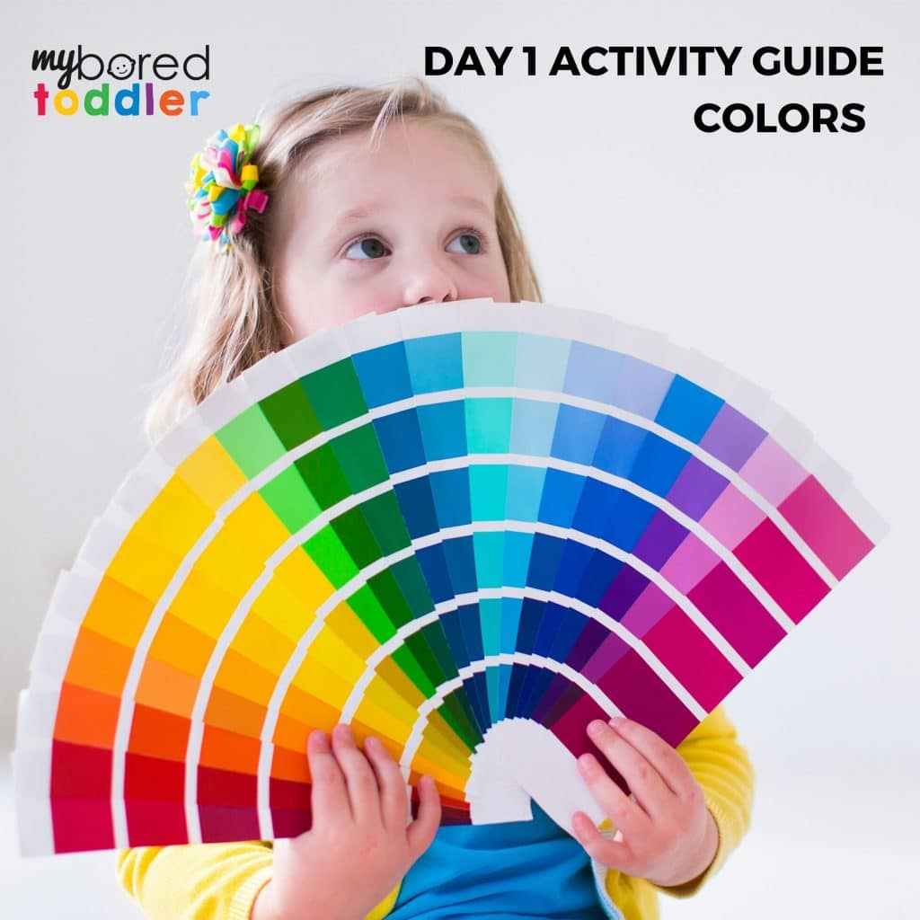 indoor activities for toddlers colors