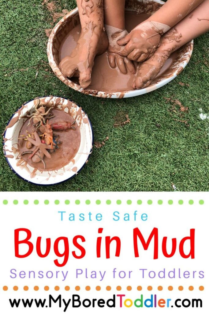 Bugs in Mud messy play pinterest