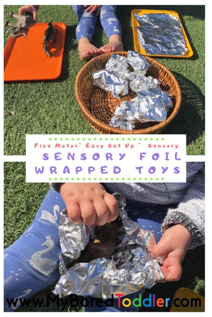 Sensory Foil Wrapped Toys