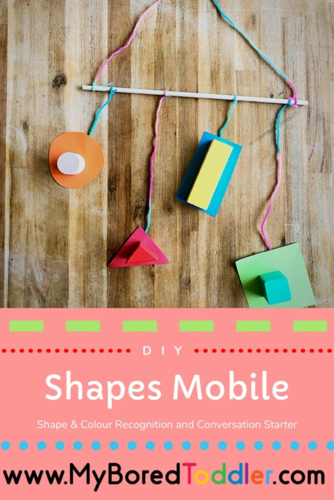 DIY Shapes Mobile