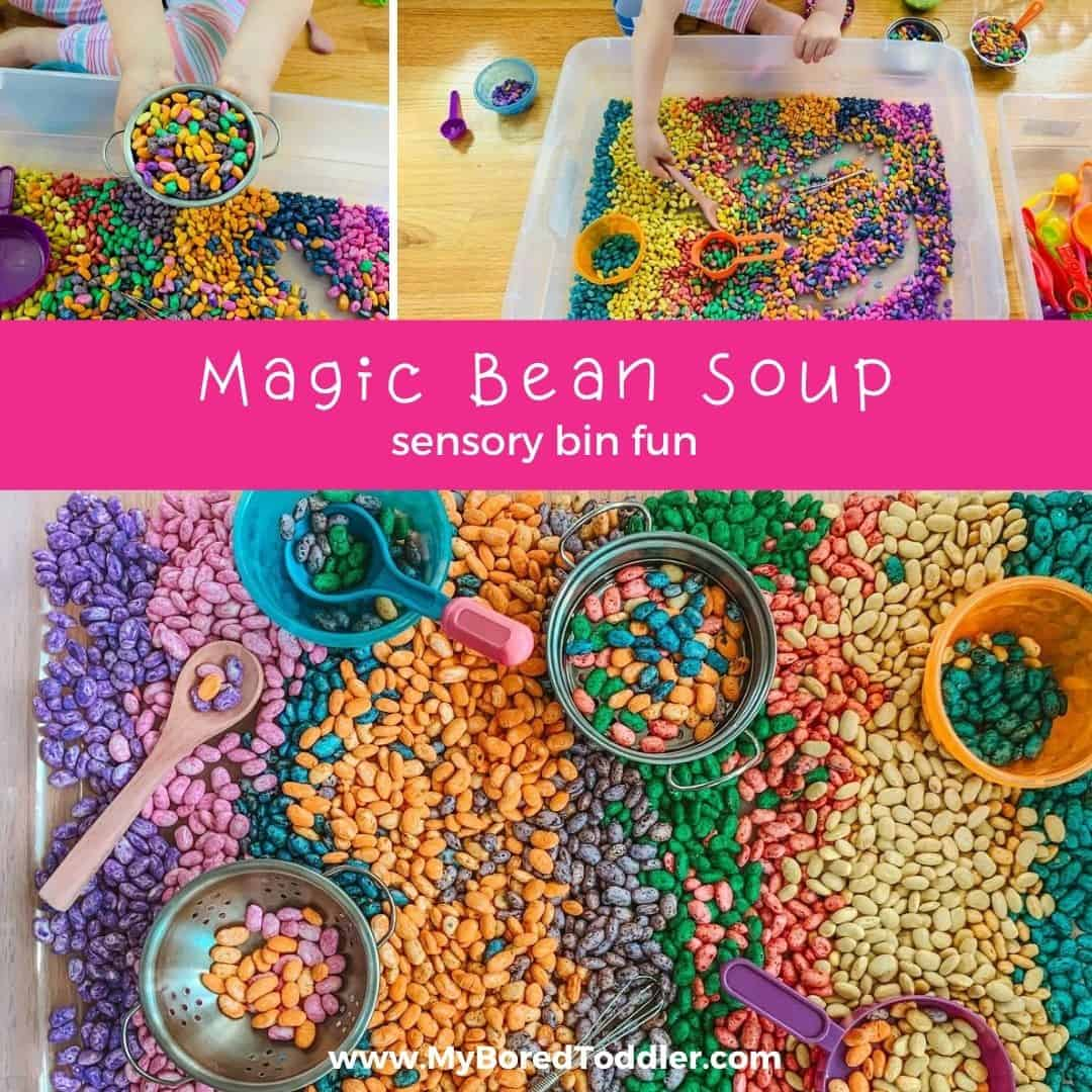 Magic Bean Soup – Sensory Bin