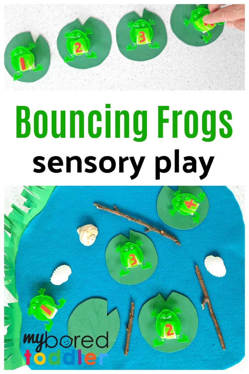 Bouncing Frogs Sensory Activity