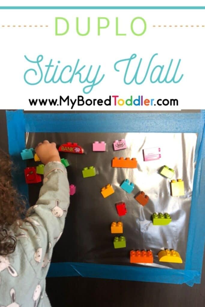 Duplo Sticky Wall