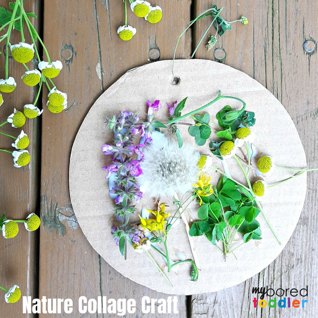 Outdoor Nature Craft for Toddlers