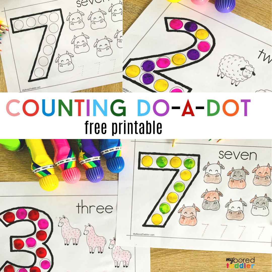 Counting Do-a-Dot Printable