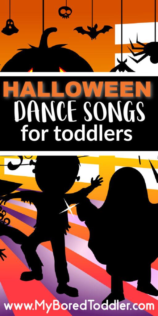 Halloween dance songs for toddlers pinterest 1