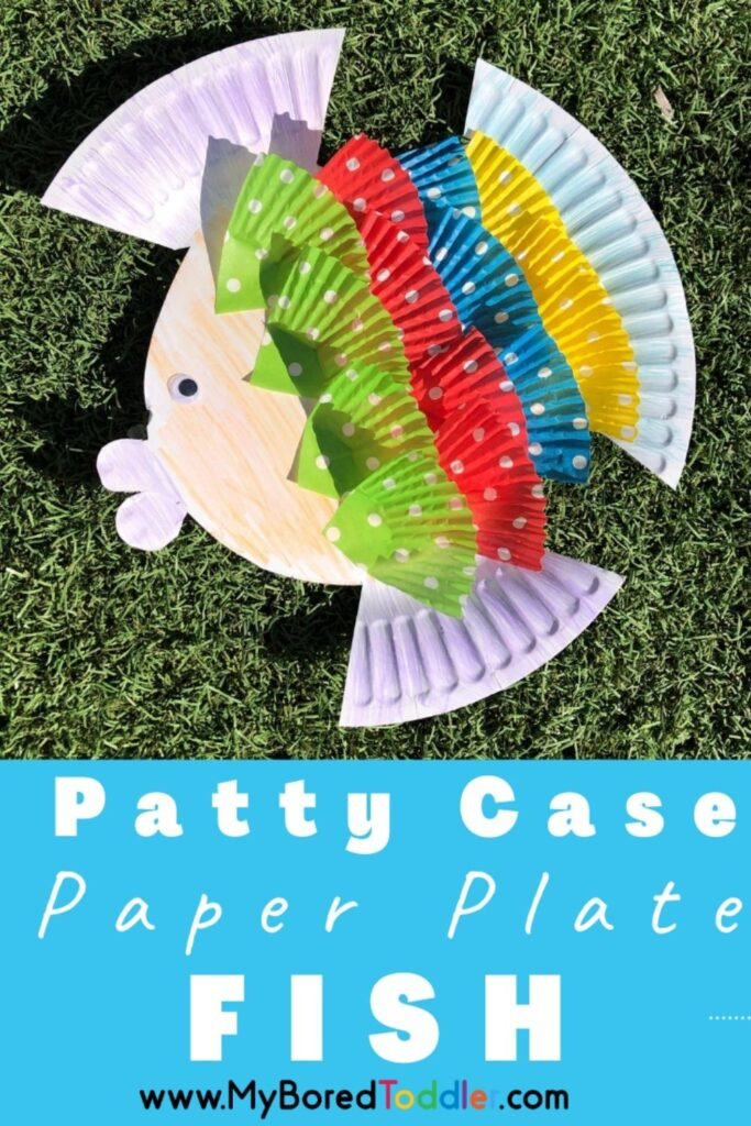Patty Case Paper Plate Fish