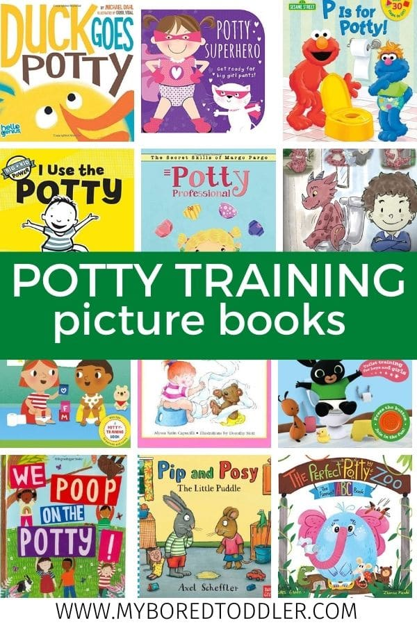 potty training picture books for toddlers