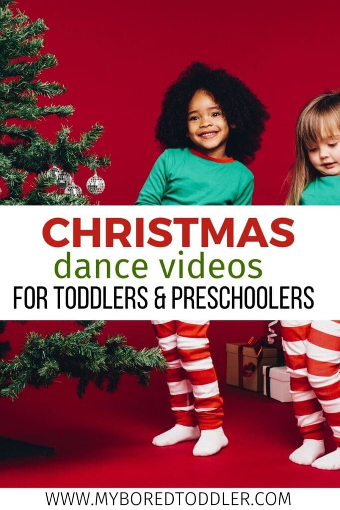 christmas dance movement and song videos on youtube for toddlers and preschoolers