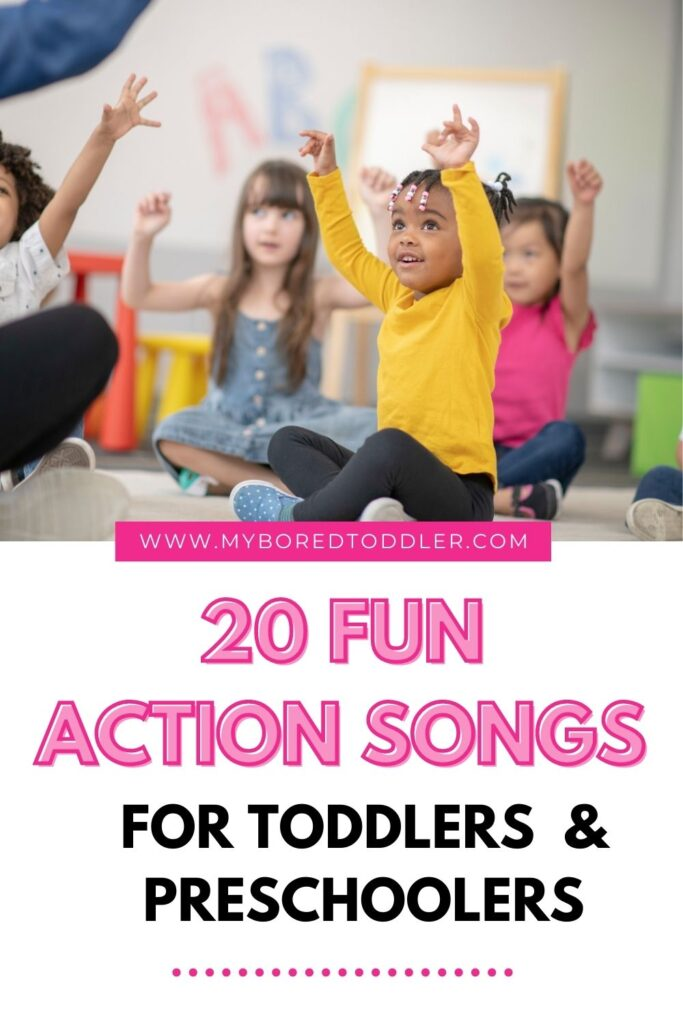 FUN SONGS FOR TODDLERS WITH ACTIONS