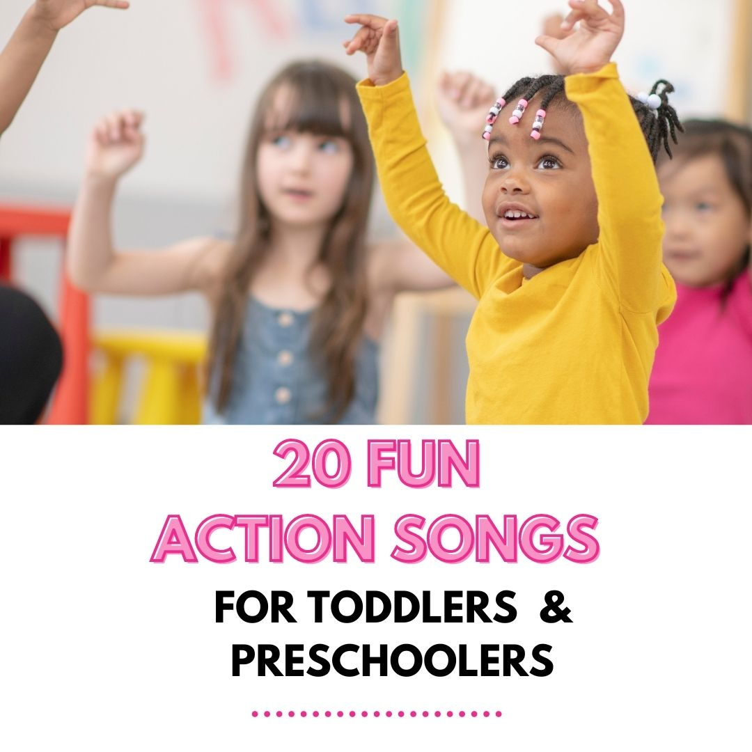 20 fun action songs for toddlers and preschoolers feature