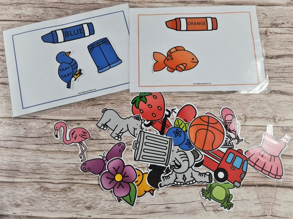 free printable color matching cards image 3