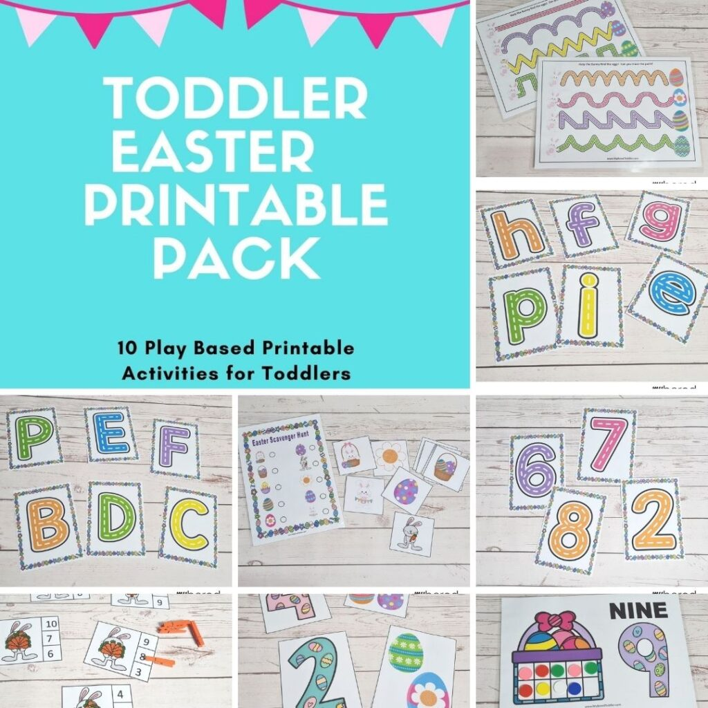 toddler Easter Printable pack