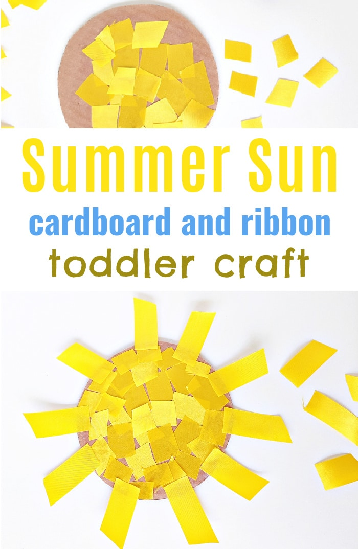 Fine Motor Sun Craft for Toddlers